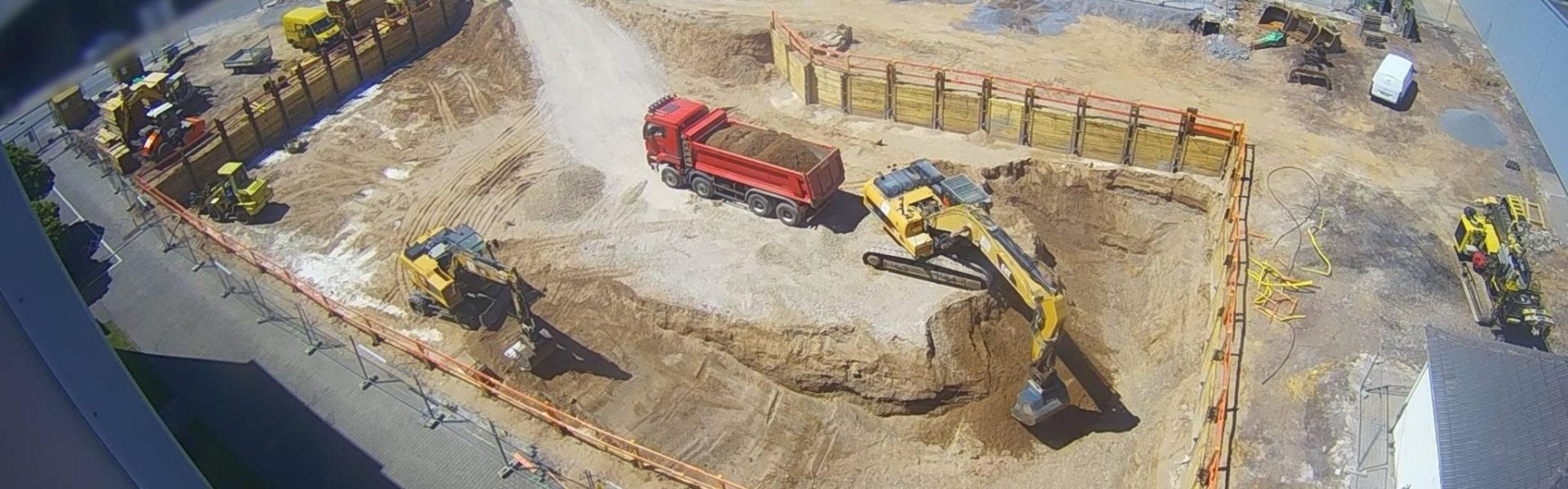 Tiefbauarbeiten Produktionsgebäude Finzelberg